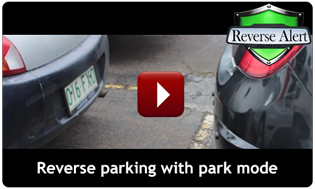 Reverse Alert operating in park mode while reversing