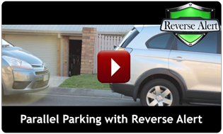 Reverse Alert allowing parallel parking