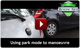 Reverse Alert manoeuvring in park mode